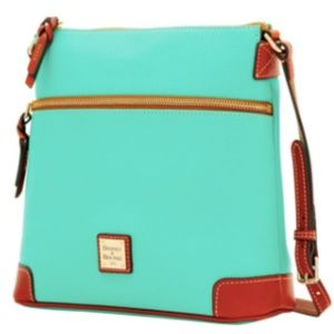 Dooney & Burke Purse Mint Jade Leather Crossbody